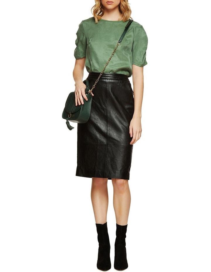 Claudette Woven Front T-Shirt image 5