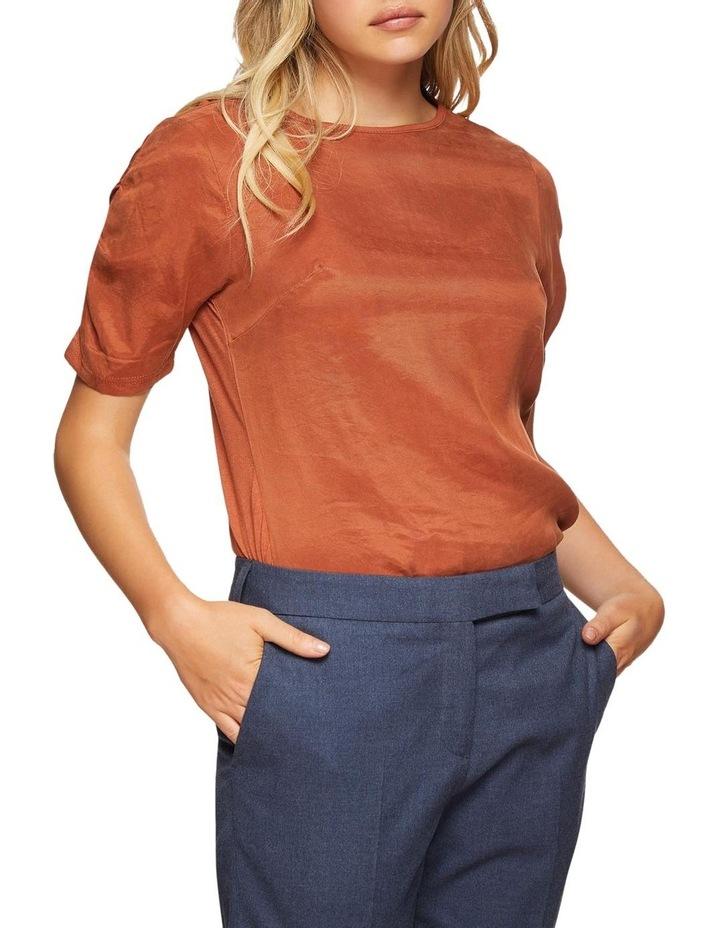 Claudette Woven Front T-Shirt image 1