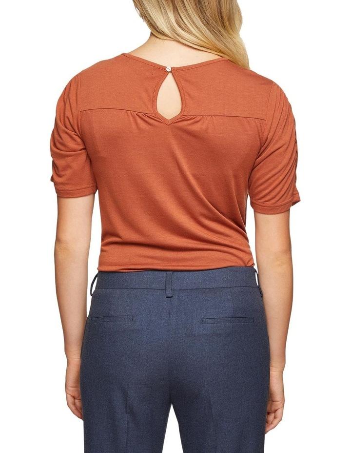 Claudette Woven Front T-Shirt image 3