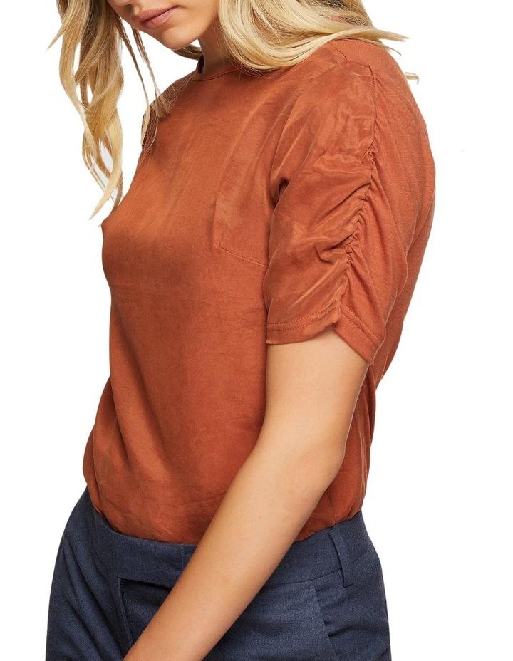 Claudette Woven Front T-Shirt image 4