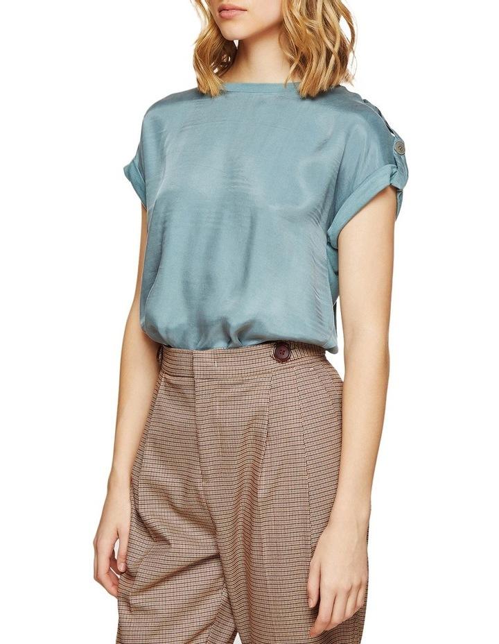 Liza Button Tap T-Shirt image 2