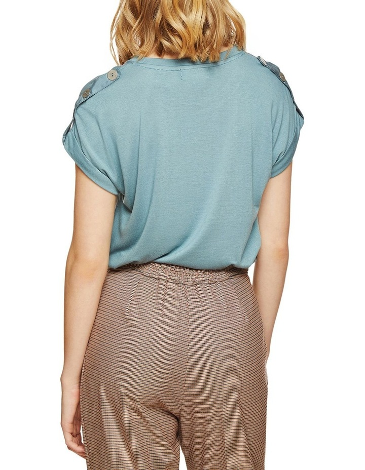 Liza Button Tap T-Shirt image 3