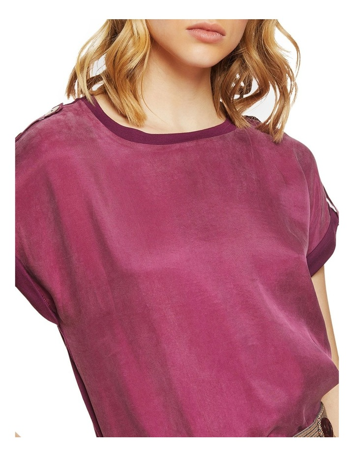 Liza Button Tap T-Shirt image 4