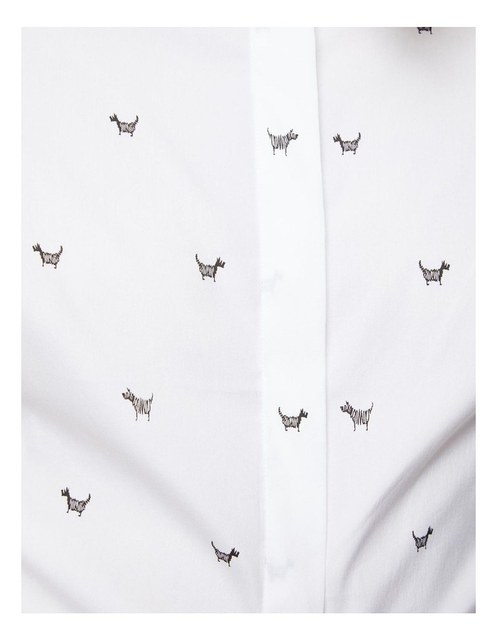 Angel Stretch Dog Print Shirt image 5