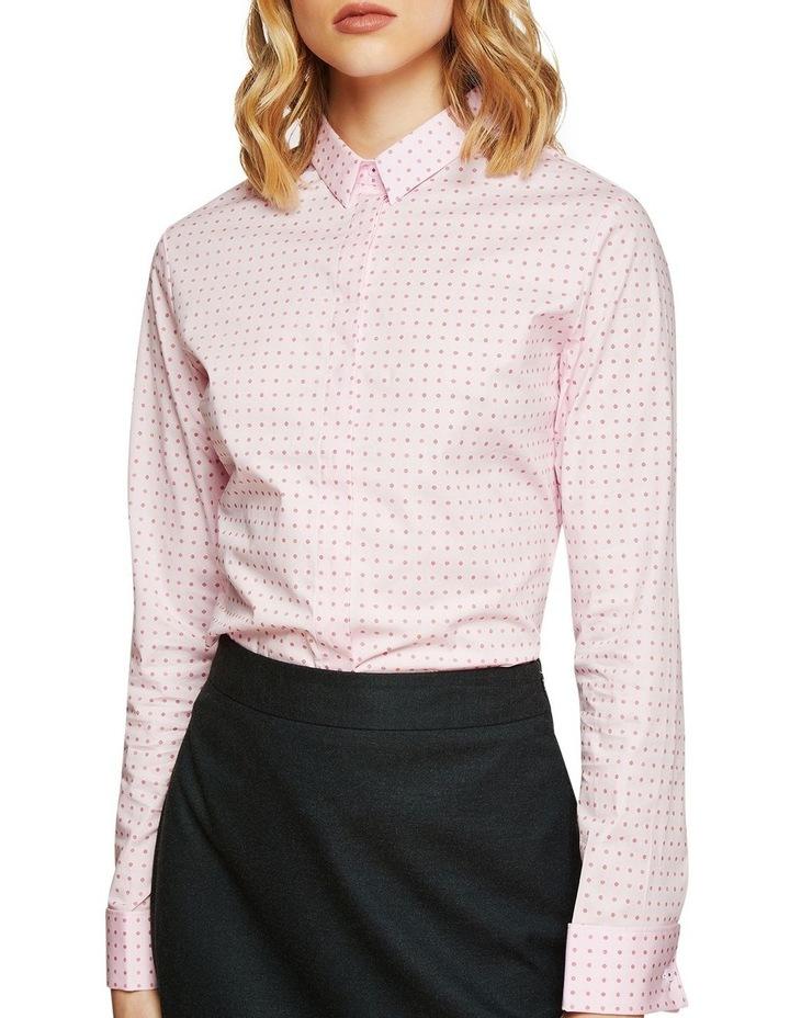 Angel French Cuff Spot Stretch Shirt image 4