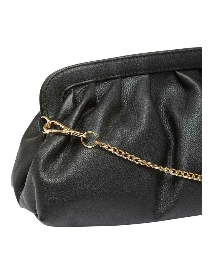 Lexi Leather Clutch Bag image 3