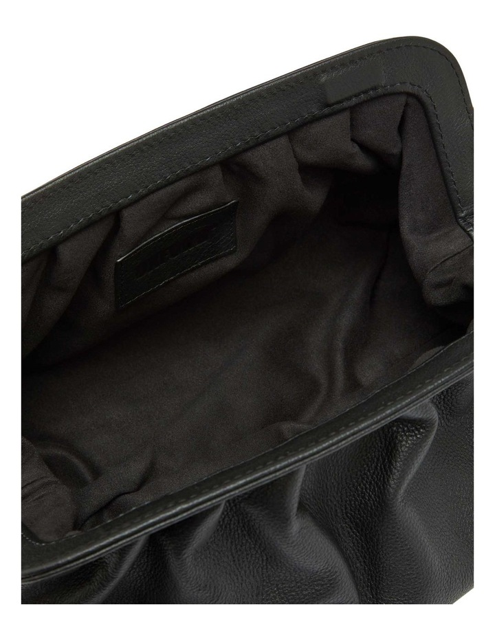 Lexi Leather Clutch Bag image 4