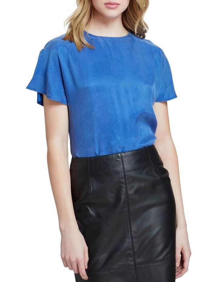 Suki Woven Front T-shirt image 1