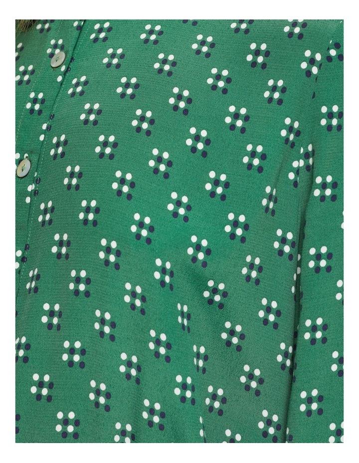 Poppy Geo Spot Printed Blouse image 6