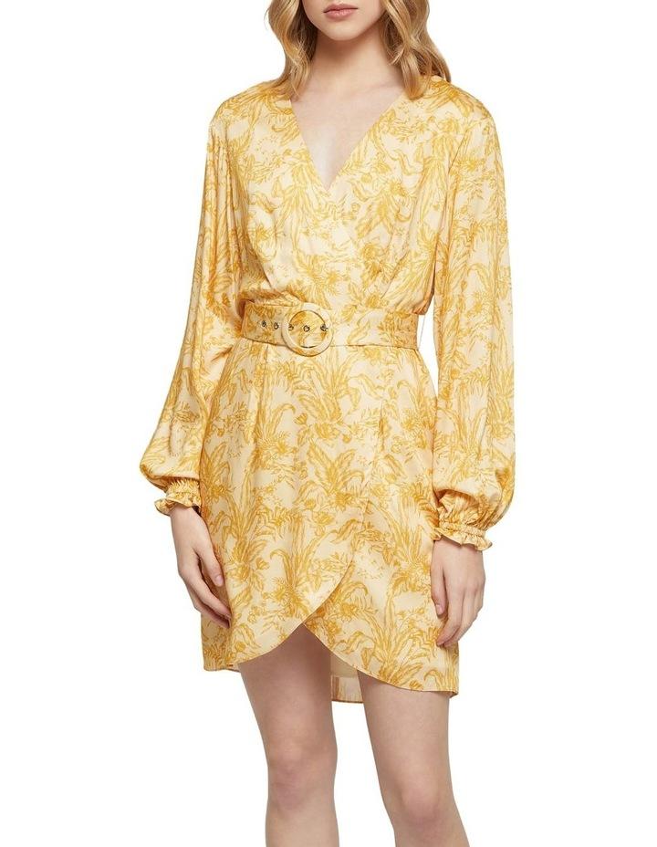 Trivia Tropical Print Dress image 1