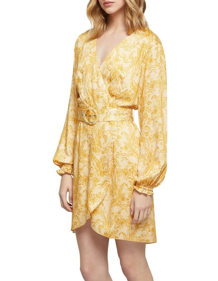 Trivia Tropical Print Dress image 2