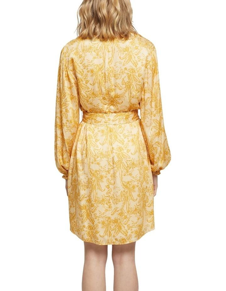 Trivia Tropical Print Dress image 3