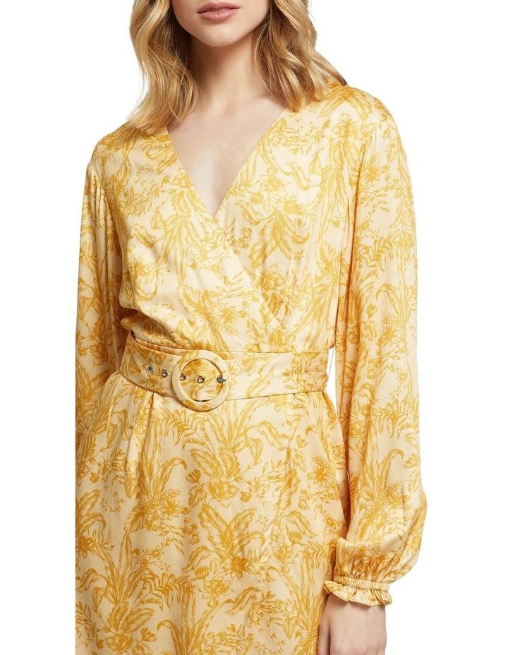 Trivia Tropical Print Dress image 4