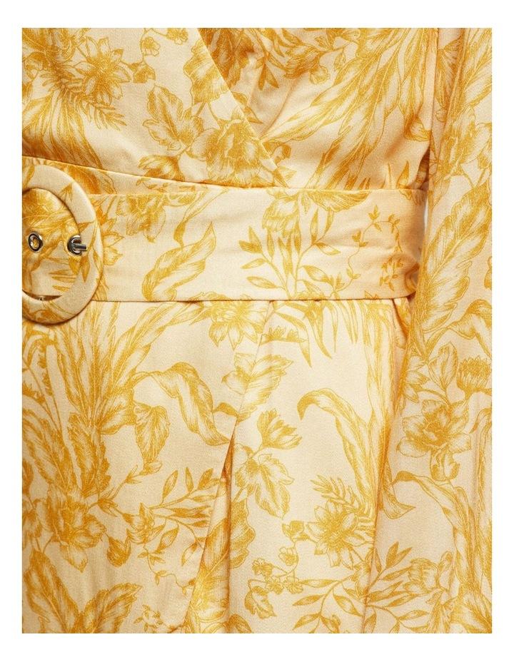 Trivia Tropical Print Dress image 6