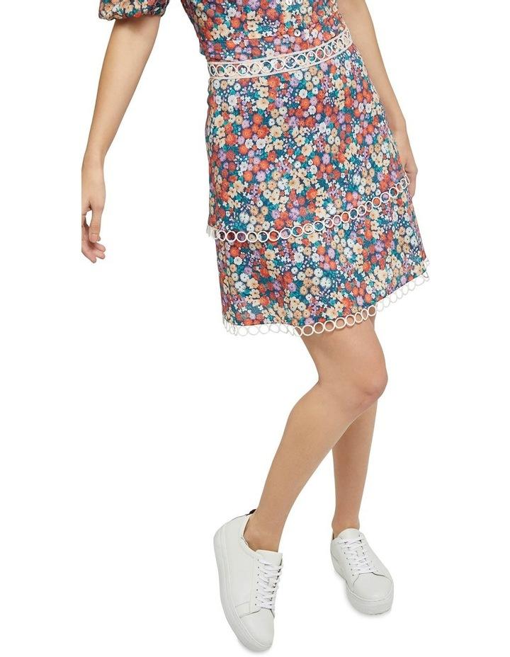Greta Ditsy Floral Skirt image 4