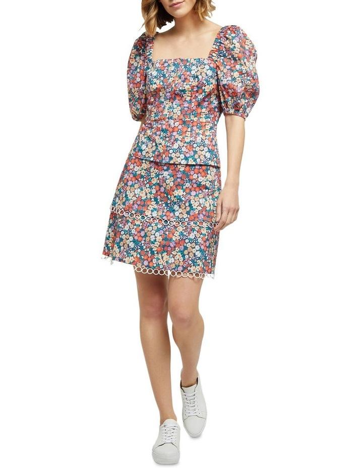 Greta Ditsy Floral Skirt image 5