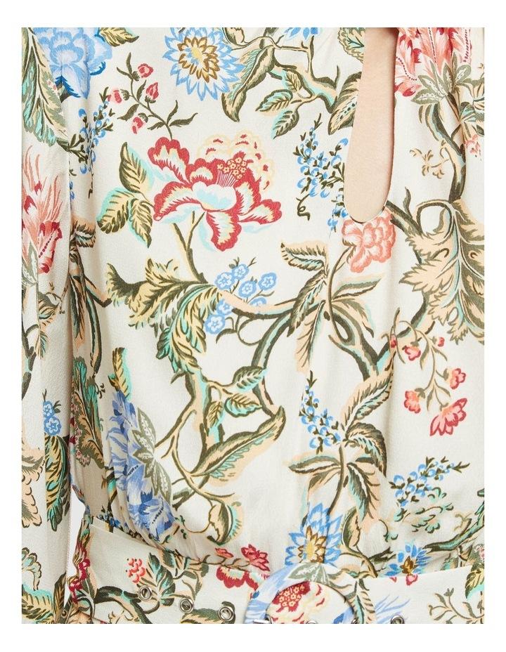 Elena Chintz Print Dress image 6