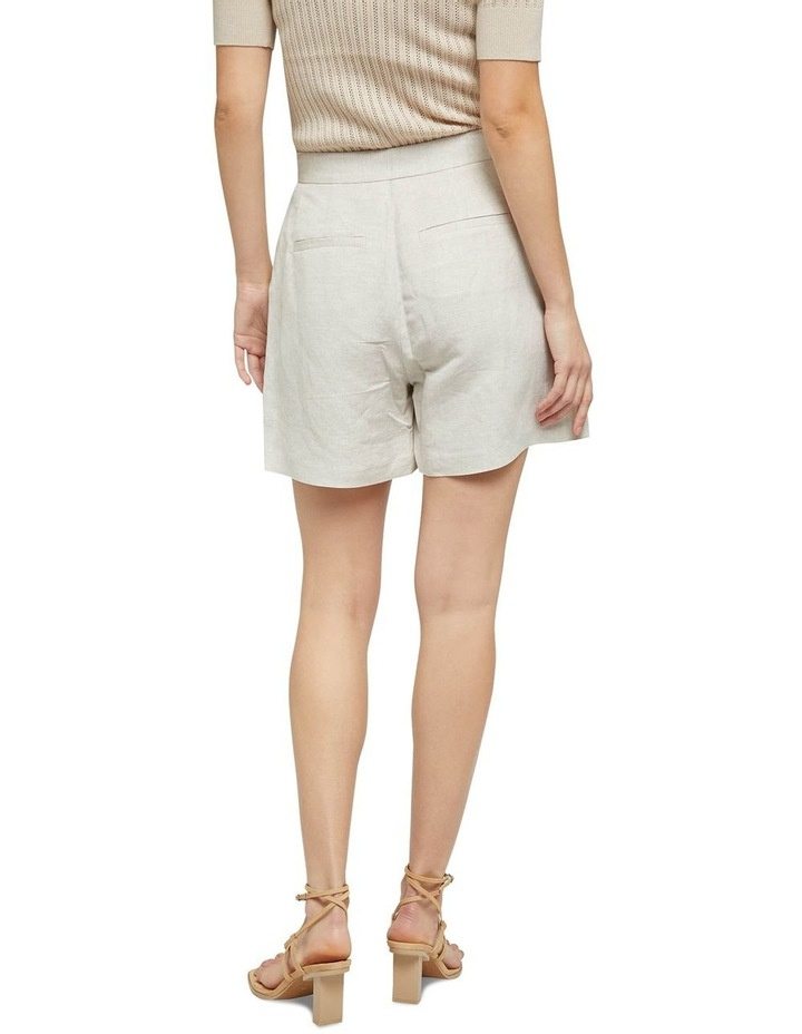 Sasha Linen Shorts image 3