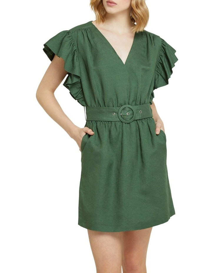Alexis-rose Linen Blend Dress image 1