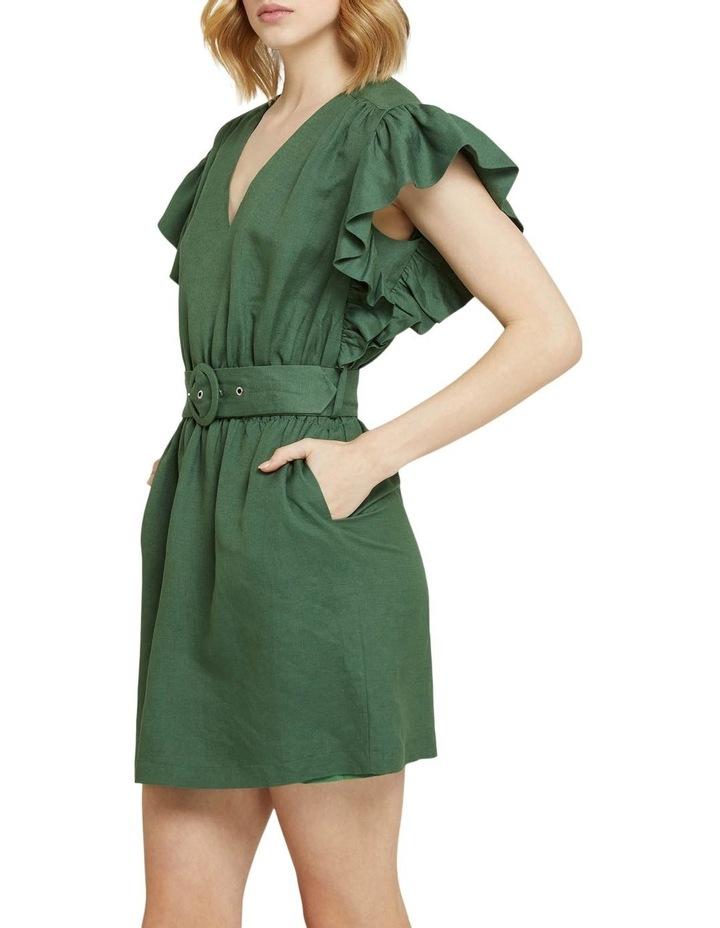 Alexis-rose Linen Blend Dress image 2