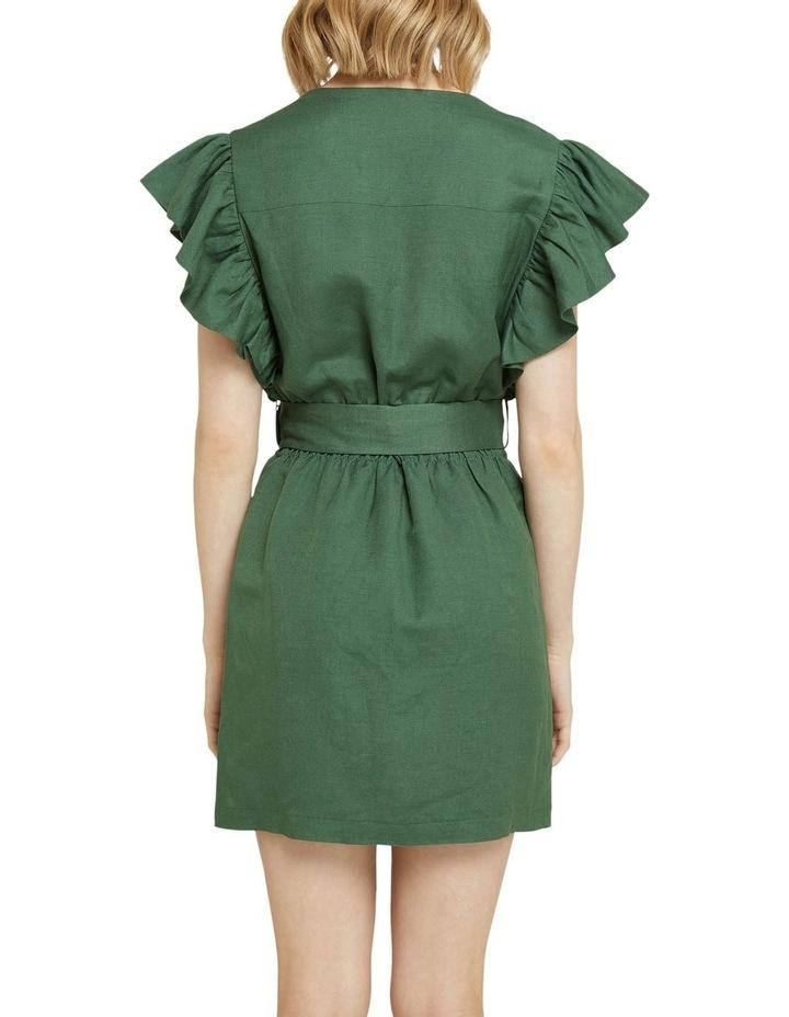 Alexis-rose Linen Blend Dress image 3