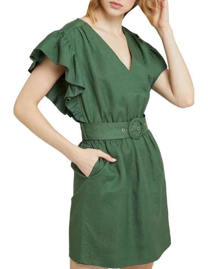 Alexis-rose Linen Blend Dress image 4