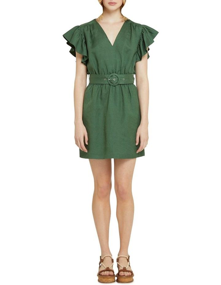 Alexis-rose Linen Blend Dress image 5
