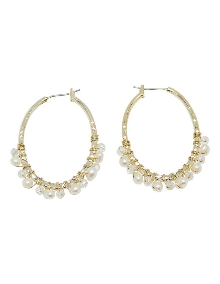 Elin Pearl Earrings image 1