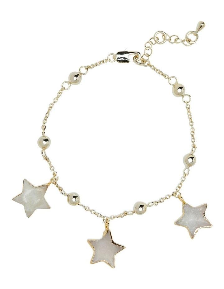 Ezri Moonstone Star Bracelet image 1