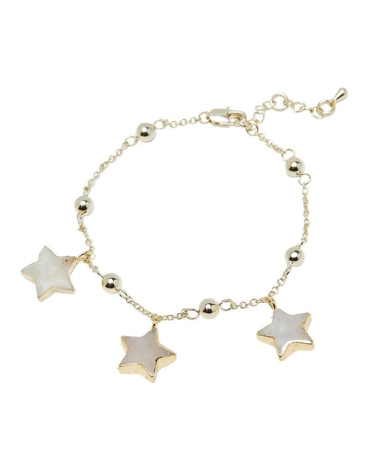 Ezri Moonstone Star Bracelet image 2