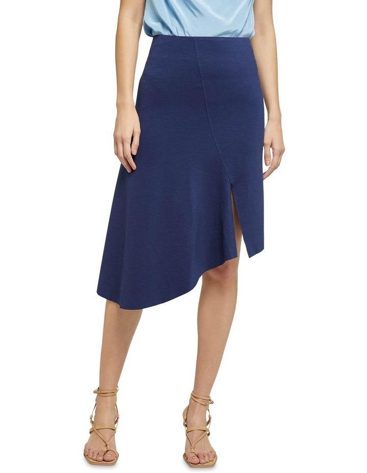 Lucy Asymetric Hem Ponti Skirt image 1