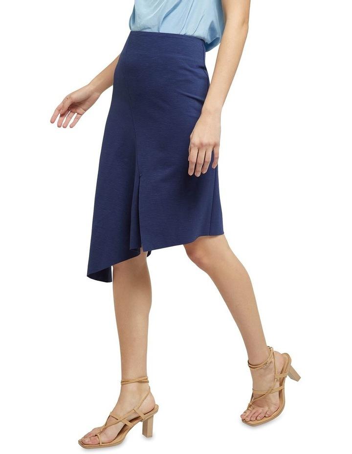 Lucy Asymetric Hem Ponti Skirt image 2