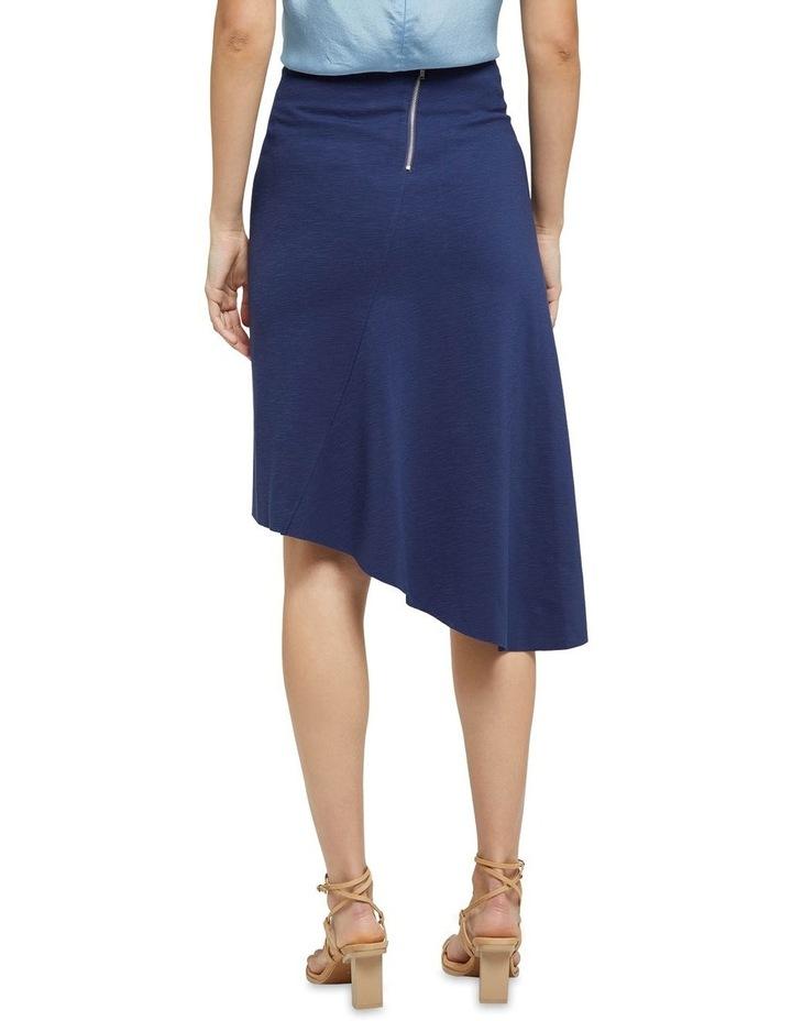 Lucy Asymetric Hem Ponti Skirt image 3