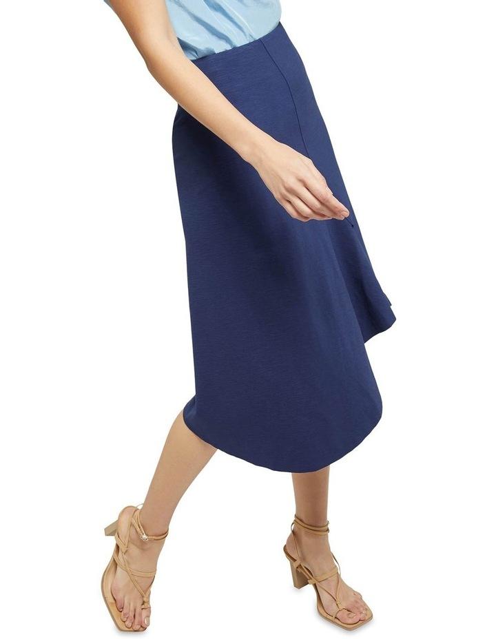 Lucy Asymetric Hem Ponti Skirt image 4