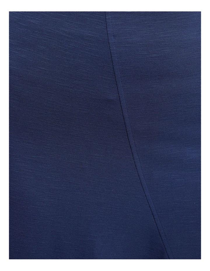 Lucy Asymetric Hem Ponti Skirt image 6