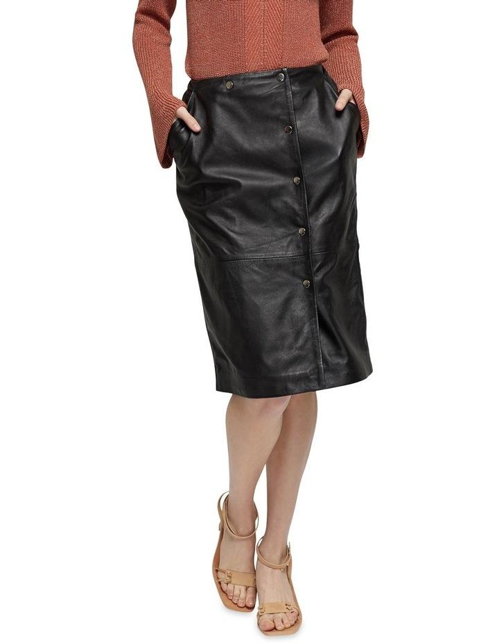 Jemma Leather Skirt image 1