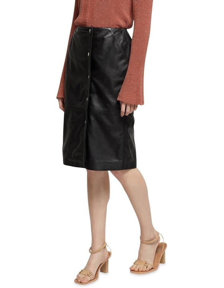 Jemma Leather Skirt image 2