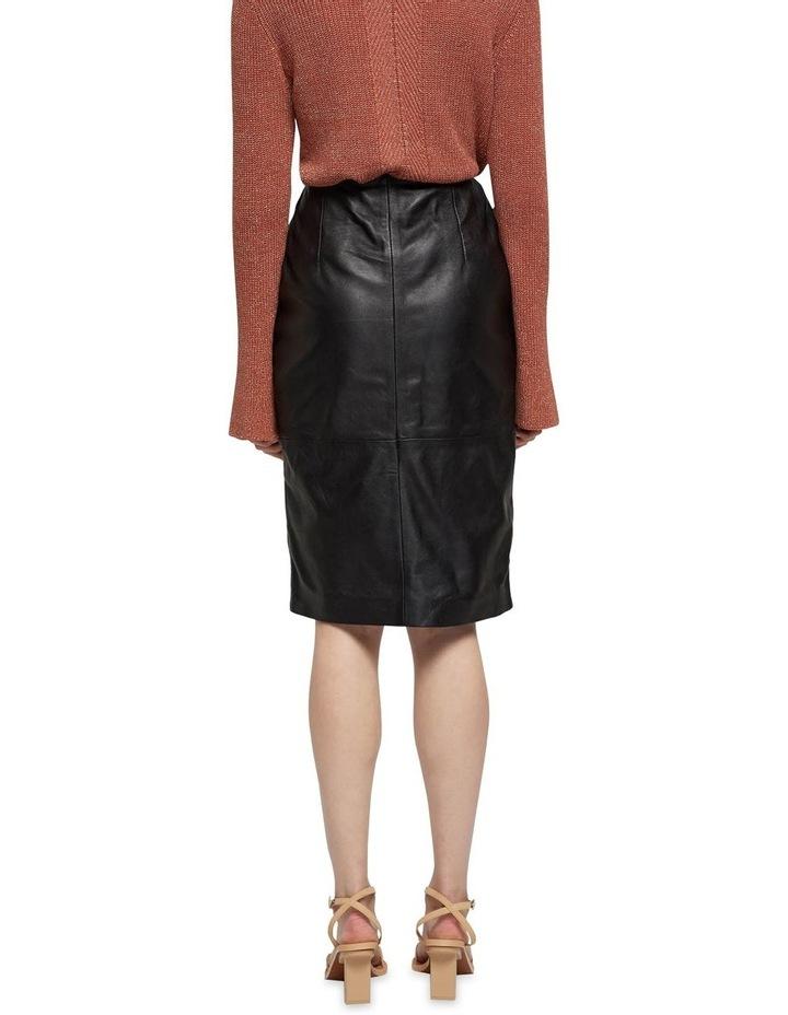 Jemma Leather Skirt image 3