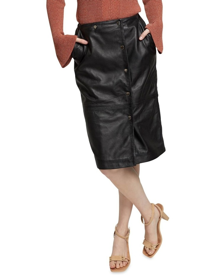 Jemma Leather Skirt image 4