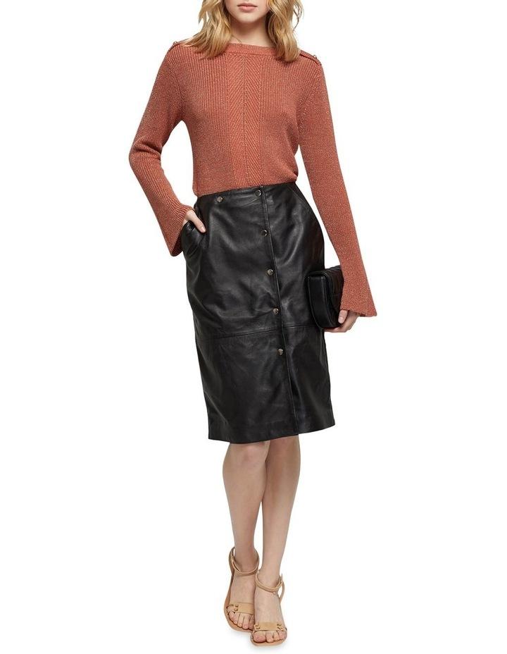 Jemma Leather Skirt image 5