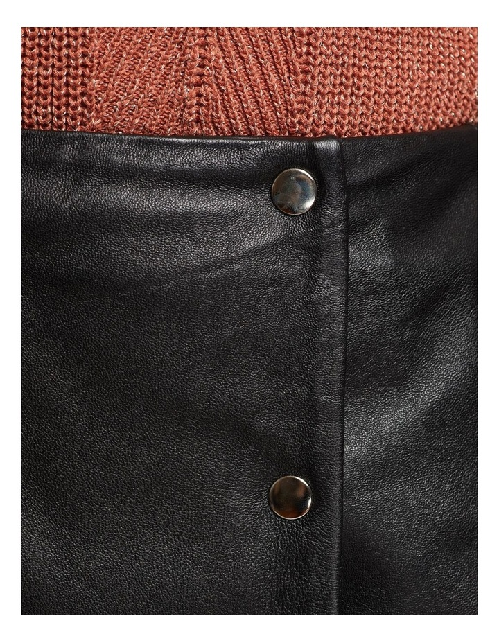 Jemma Leather Skirt image 6