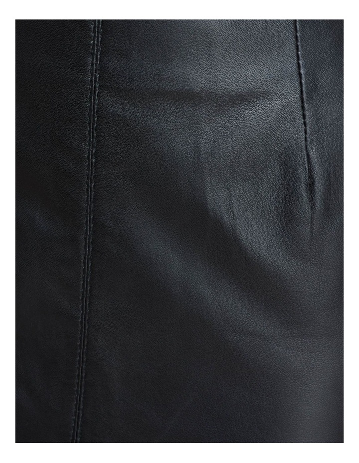 Darby Leather Pencil Skirt image 6