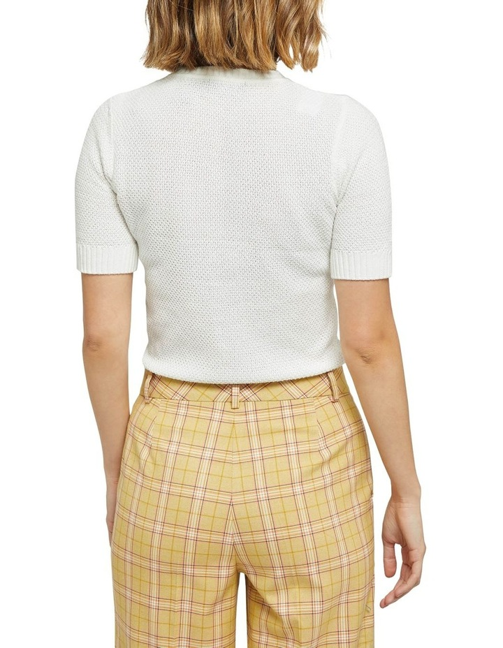 Lupa Textured Short Sleeve Knit image 3