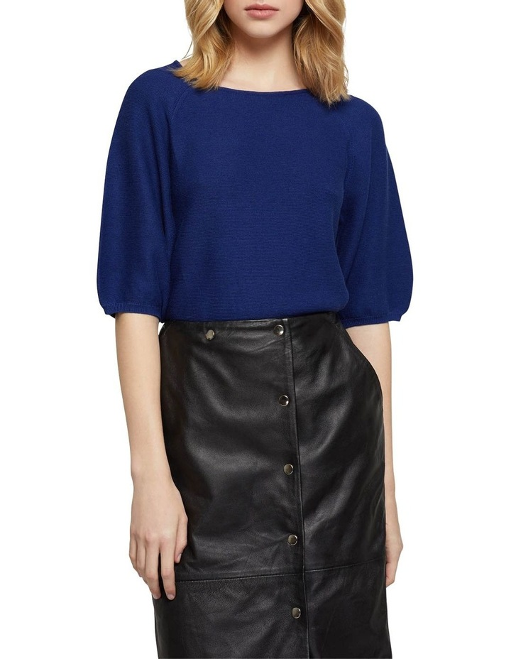Ally Bubble Sleeve Knit image 1