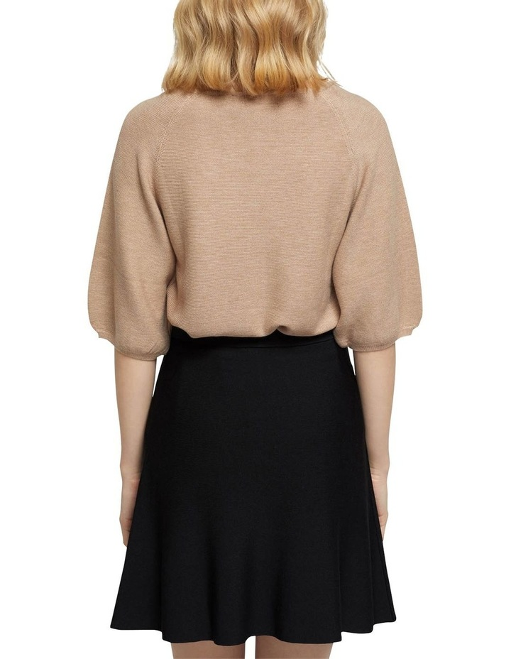 Ally Bubble Sleeve Knit image 3