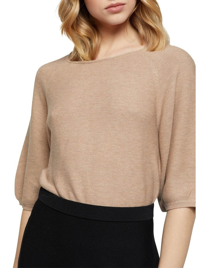 Ally Bubble Sleeve Knit image 4