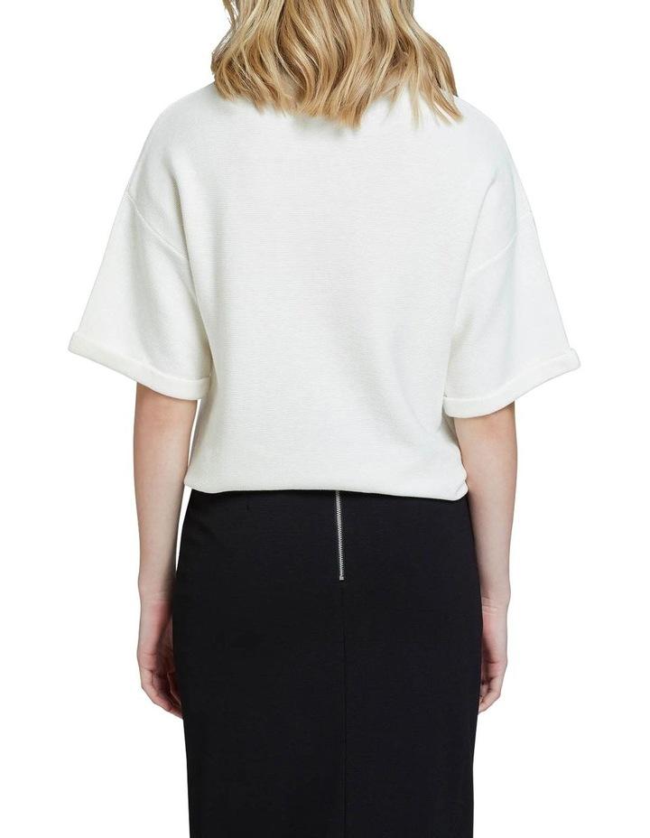Kelly Cotton Short Sleeve Knit image 3