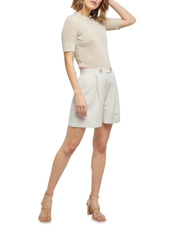 Rosie Pointelle Short Sleeve Knit image 5