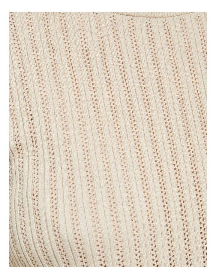 Rosie Pointelle Short Sleeve Knit image 6