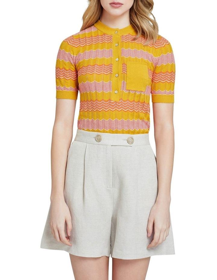 Lara Pointelle Cotton Knit image 1